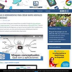 Otras 8 herramientas para crear mapas mentales en Internet