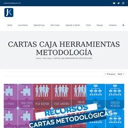 CARTAS CAJA HERRAMIENTAS METODOLOGÍA - Just Keynote
