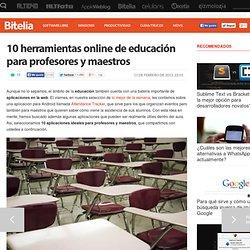 Herramientas online de educación