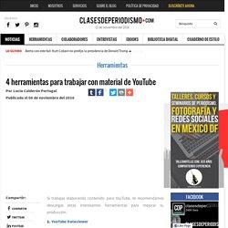 4 herramientas para trabajar con material de YouTube - Clases de Periodismo