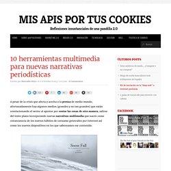 10 herramientas multimedia para las nuevas narrativas periodísticas