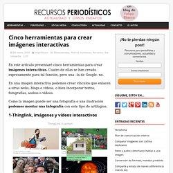 Cinco herramientas para crear imágenes interactivas - Recursos periodísticos