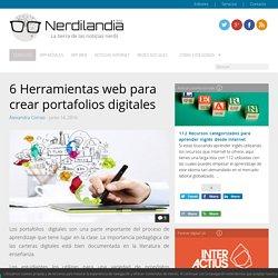6 Herramientas web para crear portafolios digitales