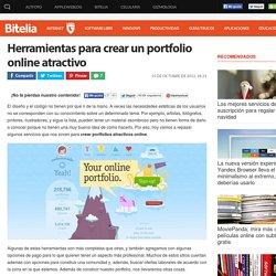 Herramientas para crear un portfolio online atractivo