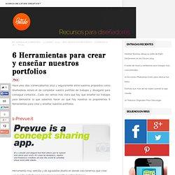 6 herramientas para crear y enseñar nuestros portfolios