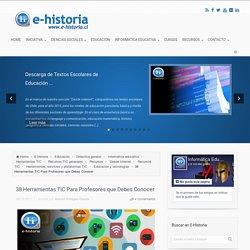 38 HERRAMIENTAS TIC