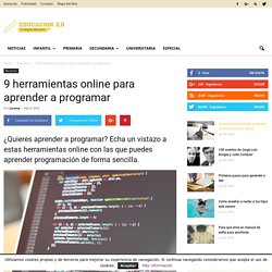 9 herramientas online para aprender programación