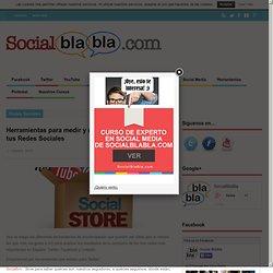 Herramientas para medir y mejorar el rendimiento de tus Redes Sociales