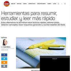 Herramientas para resumir, estudiar y leer más rápido - CNET en Español
