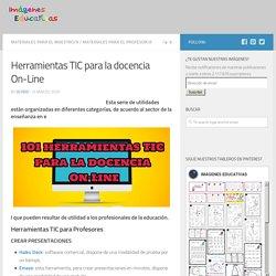 Herramientas TIC para la docencia On-Line