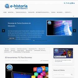50 Herramientas TIC Para Docentes