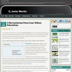 4 Herramientas Para Crear Vídeos Educativos