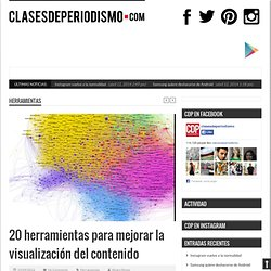 20 herramientas para mejorar la visualización del contenido