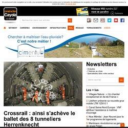 Crossrail : ainsi s'achève le ballet des 8 tunneliers Herrenknecht