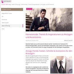 Herrenmode: Trends & Inspirationen bei der Anzugsmode für den Bräutigam
