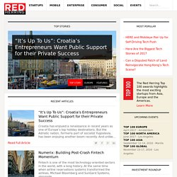 Red Herring — THE BUSINESS OF TECHNOLOGY