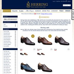 Church, Church's Shoes, Churches Shoes, Herring Shoes, Loakes, Loake Shoes, Barker, Cheaney, Tricker's, RE Tricker, Sebago, Jeffery West, Men's shoes