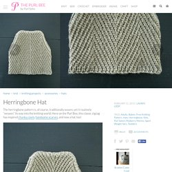 Herringbone Hat