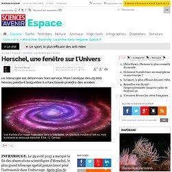 Herschel : une nouvelle fenêtre sur l'Univers