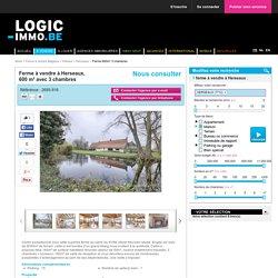 Ferme à vendre à Herseaux - 3 chambres - 600m² - Nous consulter - Logic-immo.be