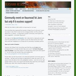 Hersham Residents Association Blog