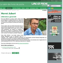 Hervé Jubert - L'édition 2016 - Lire En Poche
