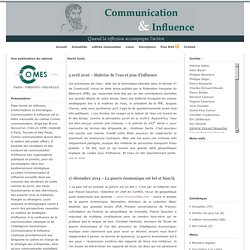 Hervé JUVIN sur Communication et influence.fr