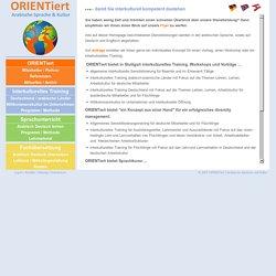 Herzlich Willkommen auf der Website von ORIENTiert