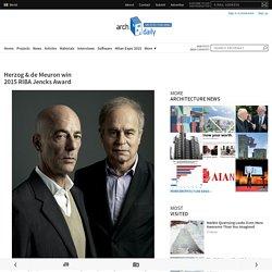 Herzog & de Meuron win 2015 RIBA Jencks Award