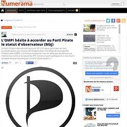 L'OMPI hésite à accorder au Parti Pirate le statut d'observateur