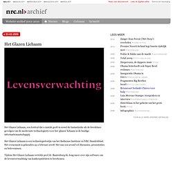 Het Glazen Lichaam - nrc.nl - Wetenschap -