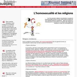 homo-hetero.be L'homosexualit et les religions