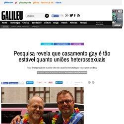Pesquisa revela que casamento gay é tão estável quanto uniões heterossexuais - Galileu