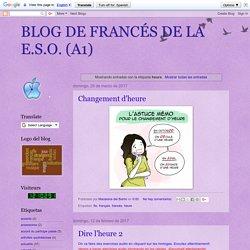 BLOG DE FRANCÉS DE LA E.S.O. (A1): heure