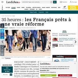 35heures: les Français prêts à une vraie réforme, Social