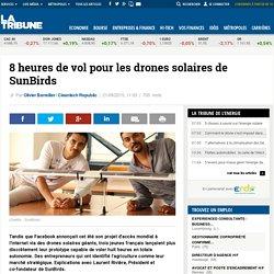 8 heures de vol pour les drones solaires de SunBirds