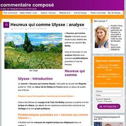 Heureux qui comme Ulysse, Du Bellay