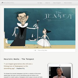 Heuristic Shakespeare : The Tempest - Heuristic Media