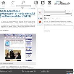 Carte heuristique : présentation et mode d'emploi (conférence-atelier CNED)
