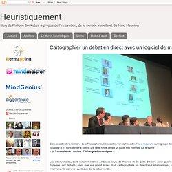Cartographier un débat en direct avec un logiciel de mind mapping