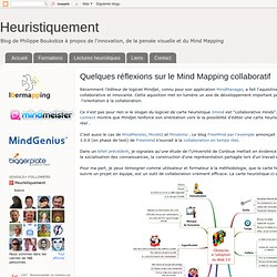 Quelques réflexions sur le Mind Mapping collaboratif