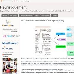Un petit exercice de Mind-Concept Mapping