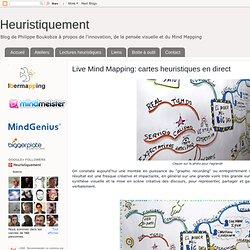 Live Mind Mapping: cartes heuristiques en direct