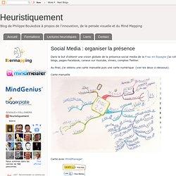 Social Media : organiser la présence