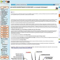 LES CARTES HEURISTIQUES OU MIND MAPS: un concept à développer ! - Dyslexie - Association des parents d'enfants dyslexiques