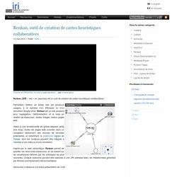 Renkan, outil de création de cartes heuristiques collaboratives