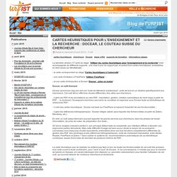 Cartes heuristiques pour l'enseignement et la recherche : Docear, le couteau suisse du chercheur