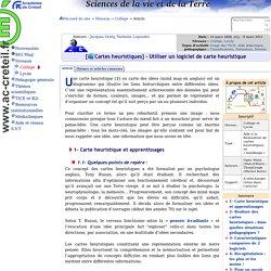 [Cartes heuristiques] Utiliser un logiciel de carte heuristique