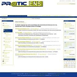 Cartes heuristiques — Intranet du service PRATIC