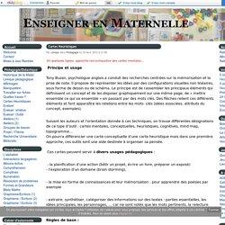Cartes Heuristiques - Enseigner en Maternelle